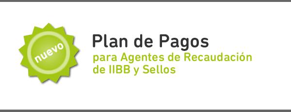 Planes de Pago de Agentes de Recaudación de IIBB y Sellos