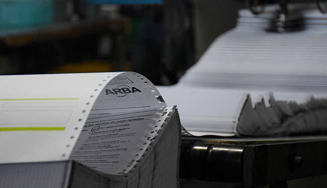 Imagen de la nota Arba dejó de imprimir y enviar boletas