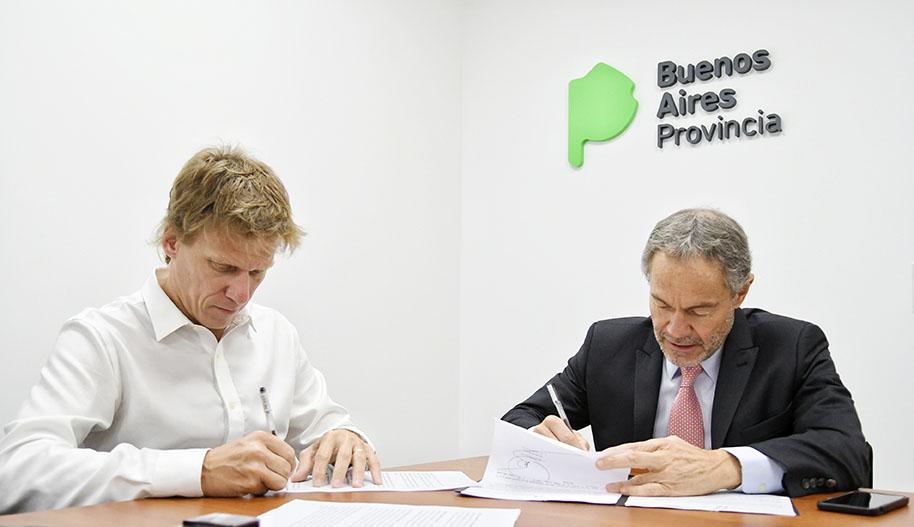 Imagen de la nota Arba firma convenio con el Ministerio de Justicia