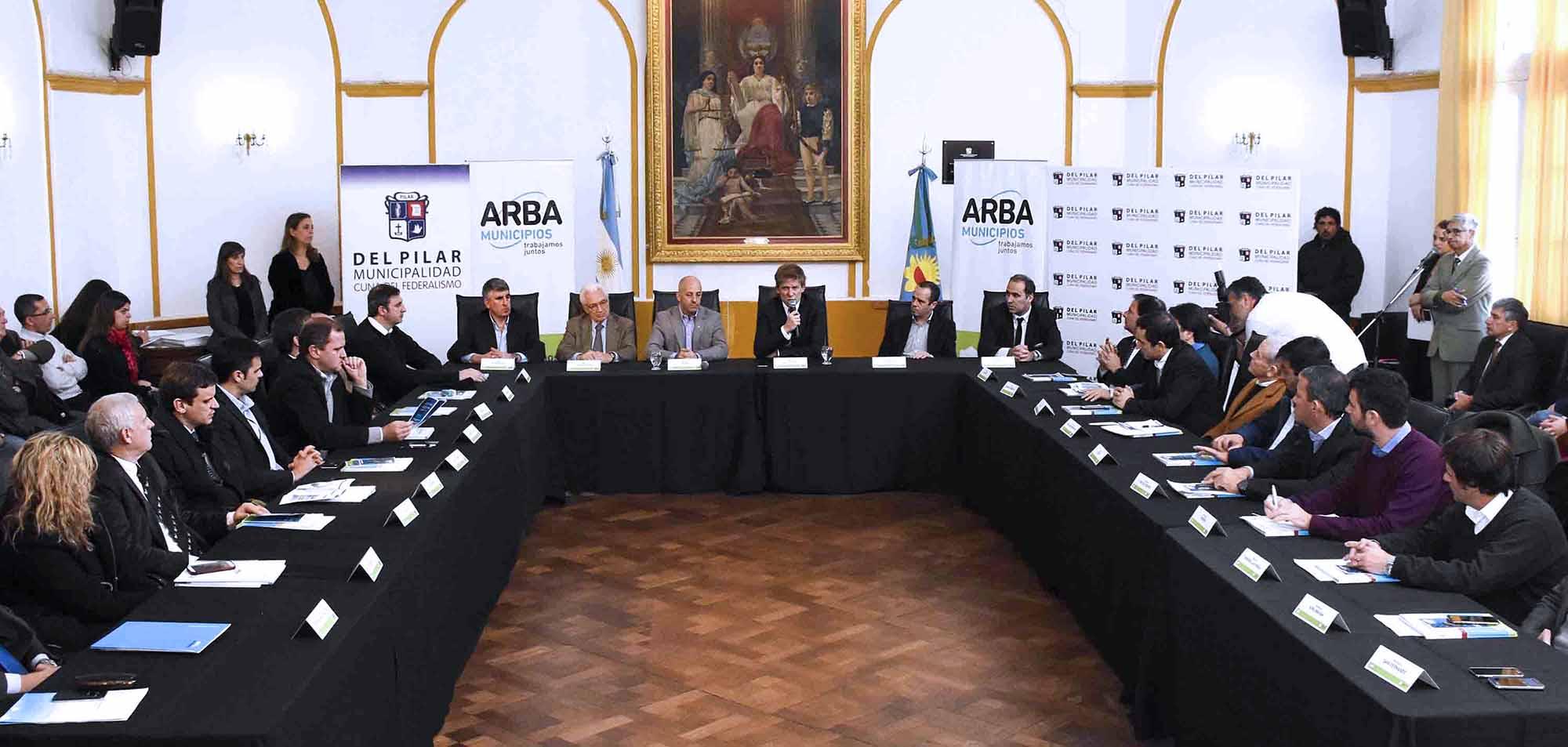 ARBA aportará tecnología satelital a municipios
