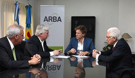 Imagen de la nota ARBA y el INAES intercambiarán información