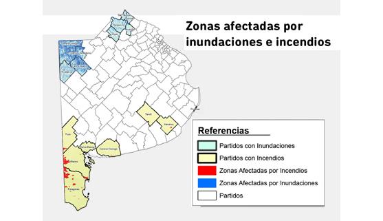 Imagen de la nota Beneficios para zonas afectadas por inundaciones